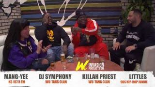 Wu-Invasion Podcast: Killa Priest Vs DJ Symphony